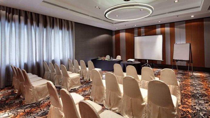 View of Hilton Petaling Jaya hotel - Muslim Friendly Travel in Kuala Lumpur