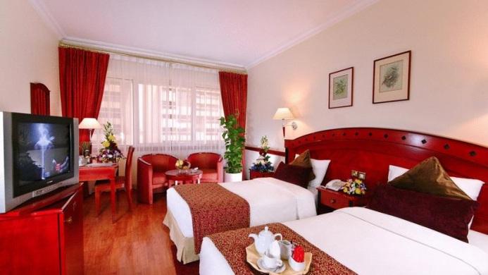 View of Seashell Inn Dubai - Muslim Friendly Travel in Dubai