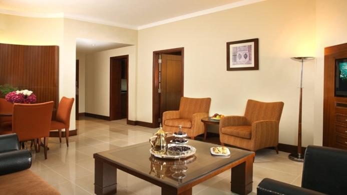 View of Rimal Rotana Suites Dubai - Muslim Friendly Travel in Dubai