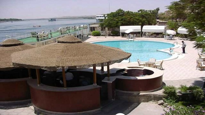 View of Isis Corniche Hotel - Muslim Friendly Travel in Aswan