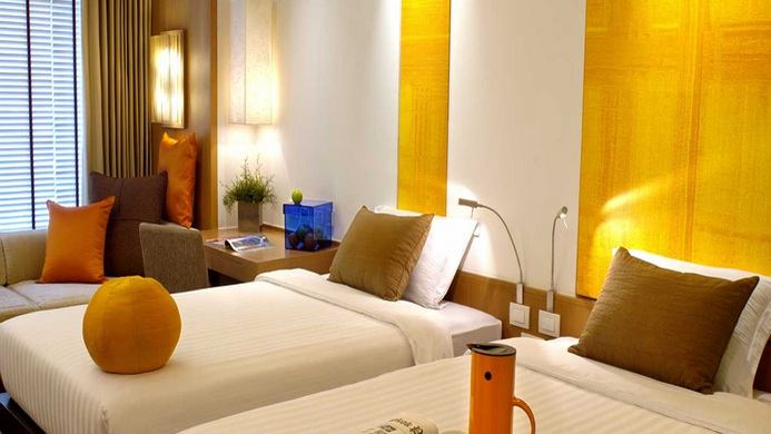 View of Orchid Hotel Dubai - Muslim Friendly Travel in Dubai
