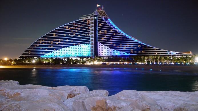 View of Jumeirah Beach Hotel Dubai - Muslim Friendly Travel in Dubai