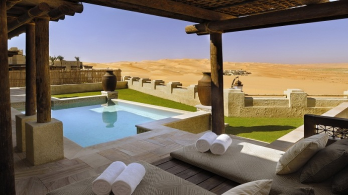 View of Bab Al Shams Desert Resort & Spa Dubai - Muslim Friendly Travel in Dubai