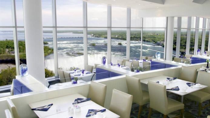 View of The Tower Hotel Niagara Falls - Muslim Friendly Travel in Niagara Falls