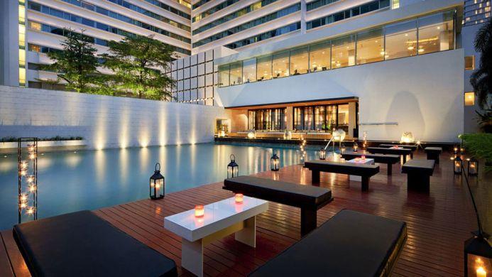 View of Swissotel Nai Lert Park Bangkok - Muslim Friendly Travel in Bangkok