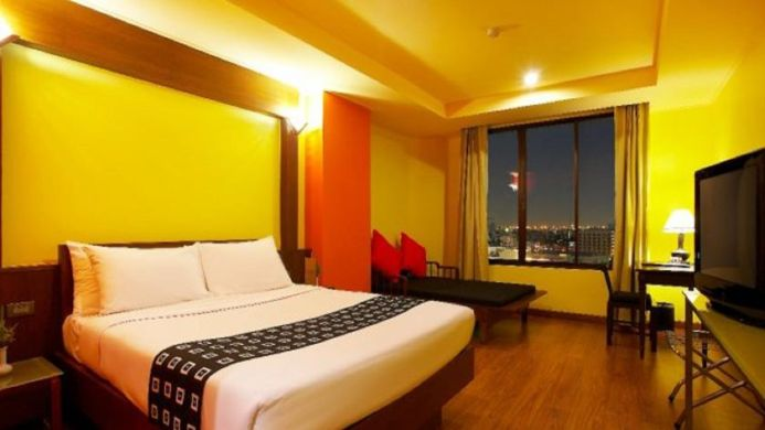 View of Bangkok Cha-Da Hotel - Muslim Friendly Travel in Bangkok