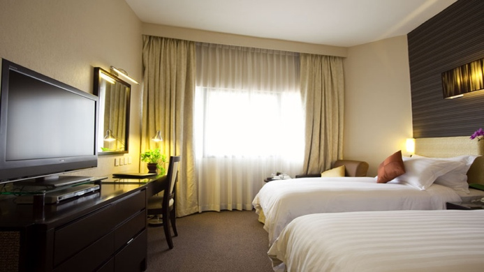 View of Hotel Royal Singapore - Muslim Friendly Travel in Singapore
