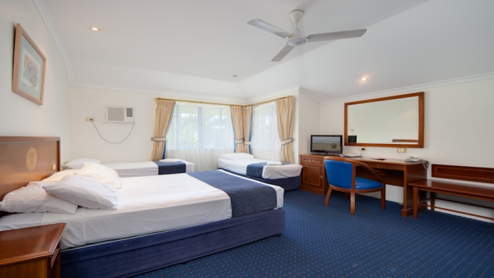 View of Cairns New Chalon Motel - Muslim Friendly Travel in Cairns