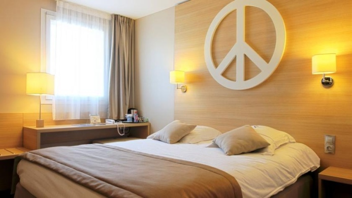 View of Mister Bed City Hotel Bourgoin - Muslim Friendly Travel in Lyon