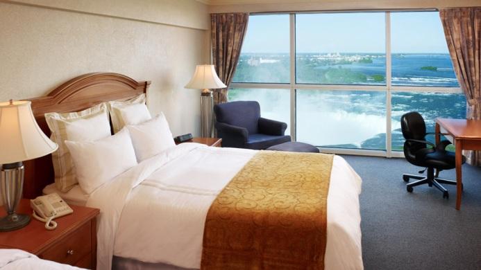 View of Sheraton Hotel on the Falls Niagara Falls - Muslim Friendly Travel in Niagara Falls