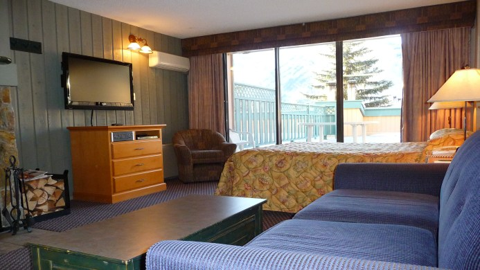 View of Douglas Fir Resort & Chalets Banff - Muslim Friendly Travel in Banff, AB