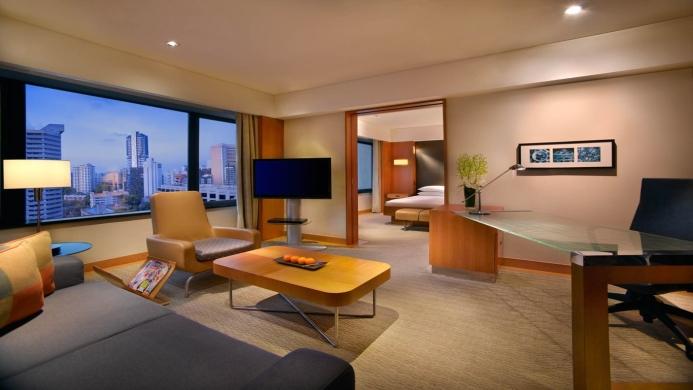 View of Grand Hyatt Hotel Singapore - Muslim Friendly Travel in Singapore