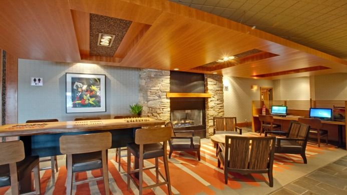 View of The Listel Hotel Whistler - Muslim Friendly Travel in Whistler