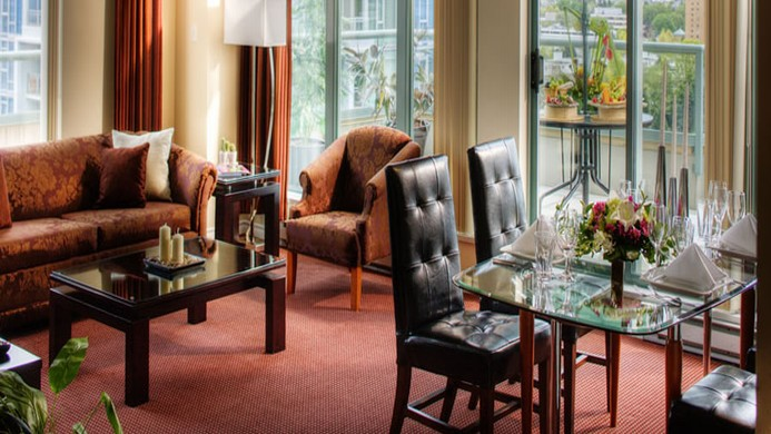 View of Coast Plaza Hotel & Suites Vancouver - Muslim Friendly Travel in Vancouver