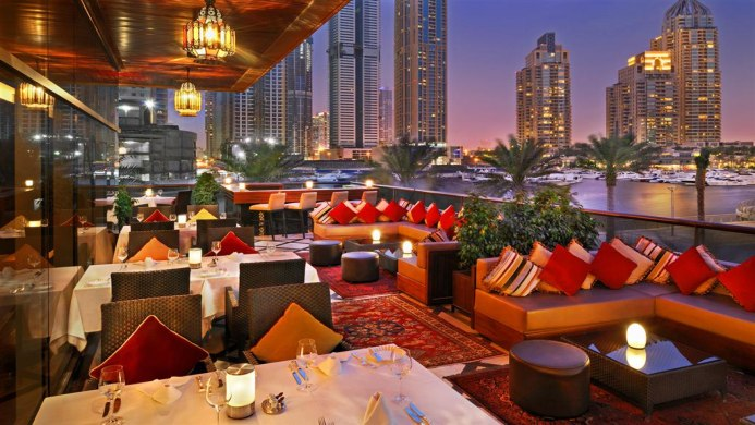 View of Grosvenor House Dubai Hotel - Muslim Friendly Travel in Dubai