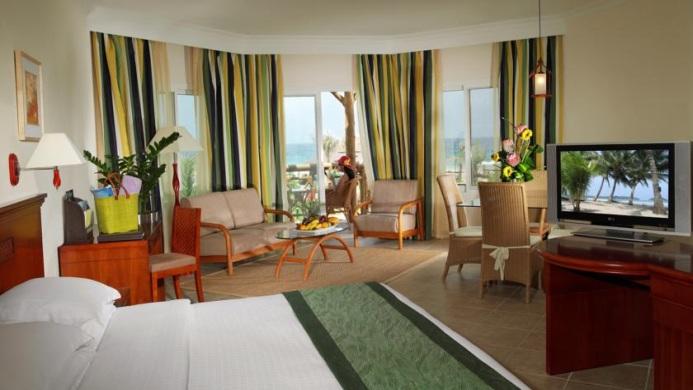 View of Le Meridien Al Aqah Beach Resort Fujairah - Muslim Friendly Travel in Fujairah