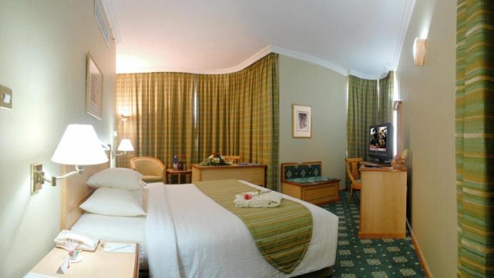 View of Top Grand Continental Flamingo Hotel Abu Dhabi - Muslim Friendly Travel in Abu Dhabi