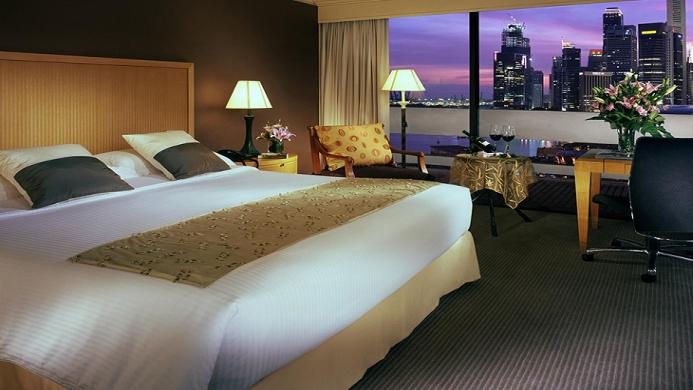 View of Marina Mandarin Singapore - Muslim Friendly Travel in Singapore