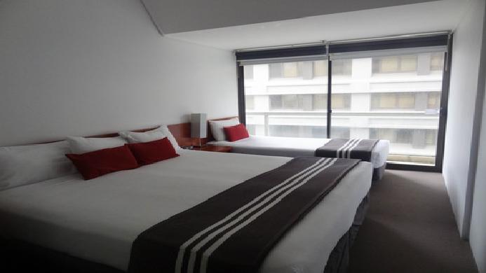 View of Y Hotel Hyde Park Sydney - Muslim Friendly Travel in Sydney