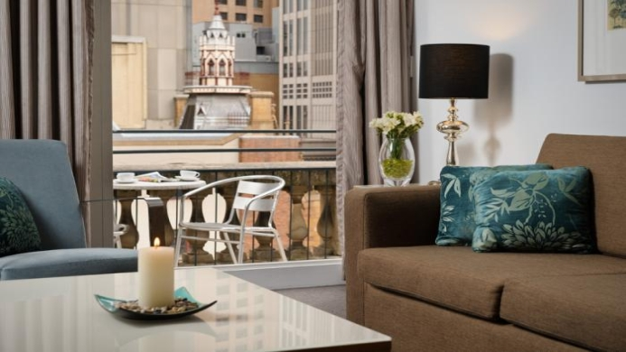 View of All Suites Perth Apartments - Muslim Friendly Travel in Perth