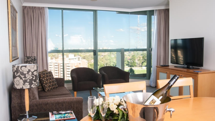 View of The Sebel Residence Chatswood - Muslim Friendly Travel in Sydney