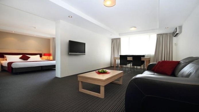 View of Rendezvous Studio Hotel Sydney Central - Muslim Friendly Travel in Sydney