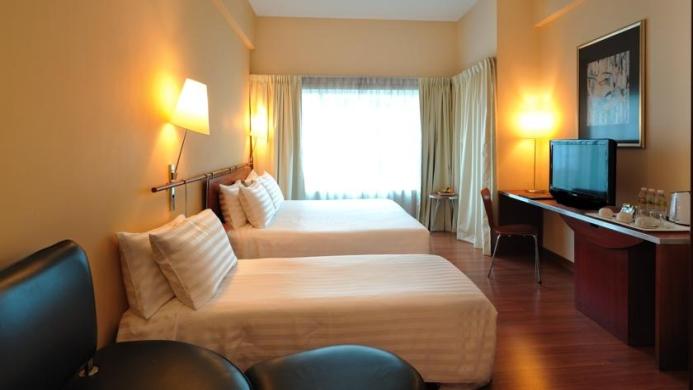 View of Alpha Genesis Hotel Kuala Lumpur - Muslim Friendly Travel in Kuala Lumpur