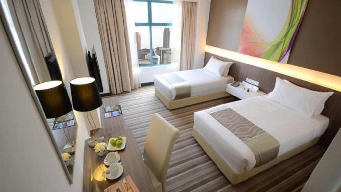 View of Radius International Hotel Kuala Lumpur - Muslim Friendly Travel in Kuala Lumpur