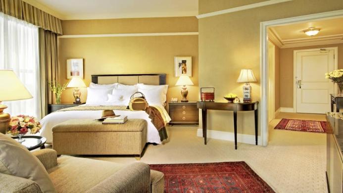 View of Ritz Carlton Hotel Kuala Lumpur - Muslim Friendly Travel in Kuala Lumpur