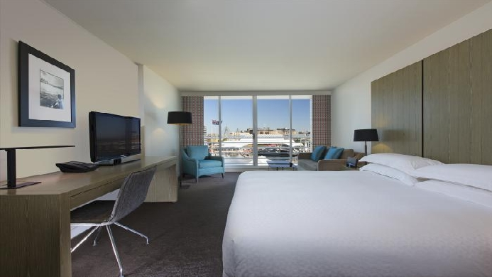 View of Four Points By Sheraton Hotel Darling Harbour Sydney - Muslim Friendly Travel in Sydney