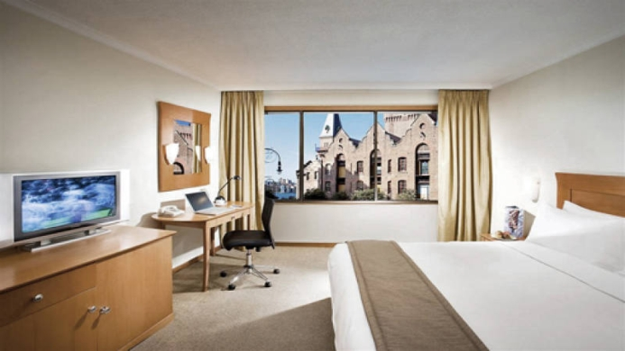 View of Holiday Inn Old Sydney - Muslim Friendly Travel in Sydney