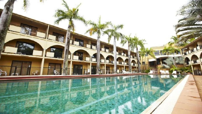 View of Palm Royale Cairns - Muslim Friendly Travel in Cairns
