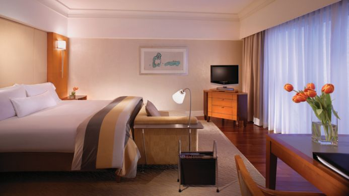 View of Fairmont Hotel Singapore - Muslim Friendly Travel in Singapore