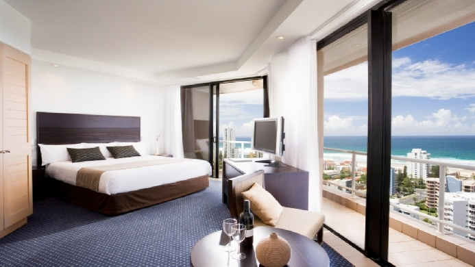 View of Australis Sovereign Hotel Surfers Paradise - Muslim Friendly Travel in Gold Coast