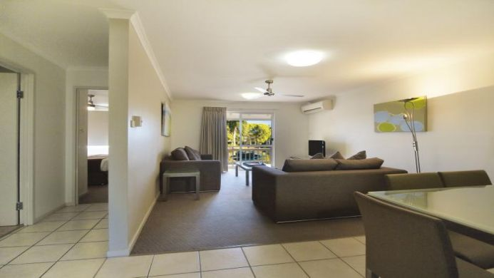 View of Oaks Oasis Resort Caloundra - Muslim Friendly Travel in Sunshine Coast