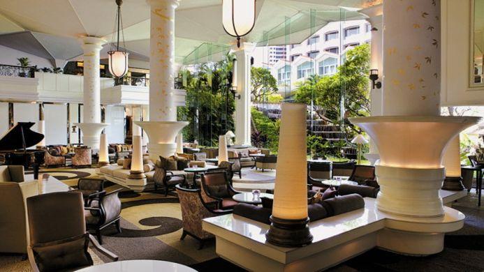 View of Dusit Thani Hotel Bangkok - Muslim Friendly Travel in Bangkok