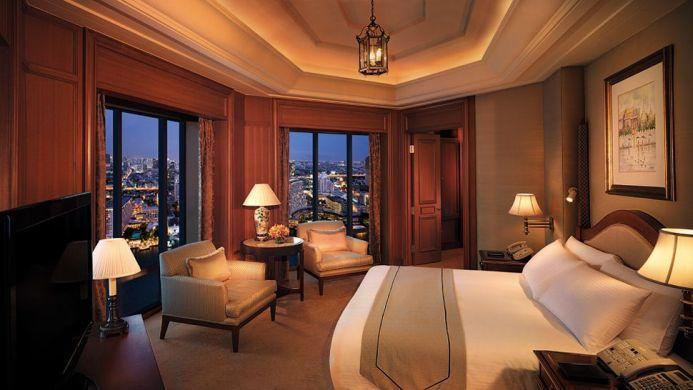 View of The Peninsula Hotel Bangkok - Muslim Friendly Travel in Bangkok