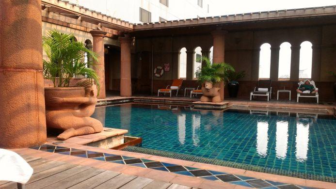 View of Crowne Plaza Bangkok Lumpini Park Hotel - Muslim Friendly Travel in Bangkok