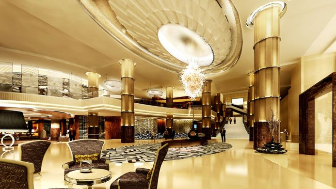 View of Intercontinental Hotel Bangkok - Muslim Friendly Travel in Bangkok