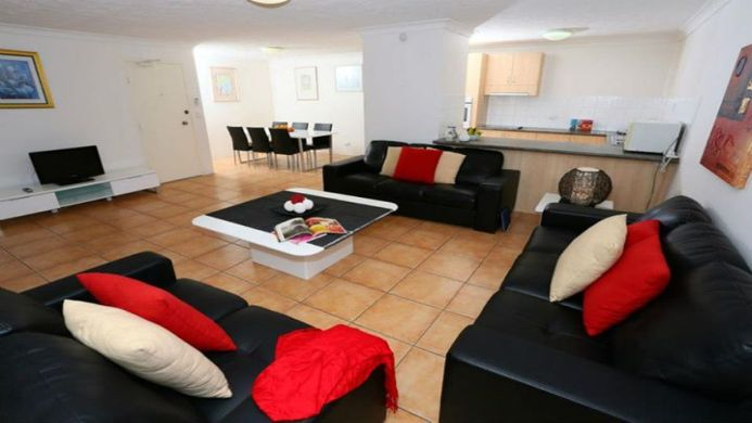 View of St Tropez Resort Apartments Surfers Paradise - Muslim Friendly Travel in Gold Coast