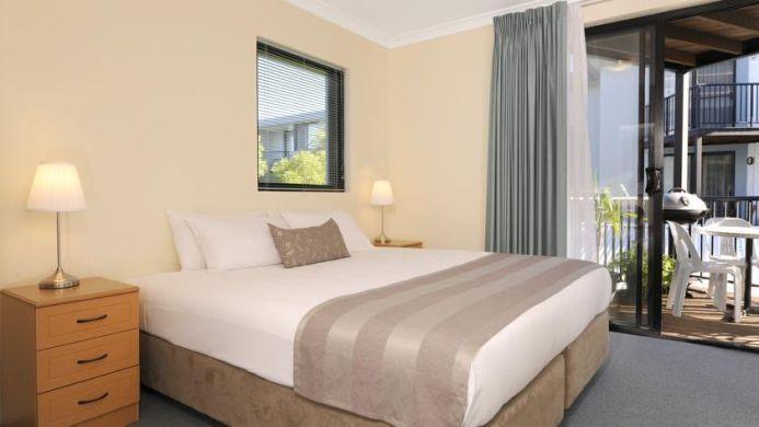 View of Assured Waterside Apartments Perth - Muslim Friendly Travel in Perth