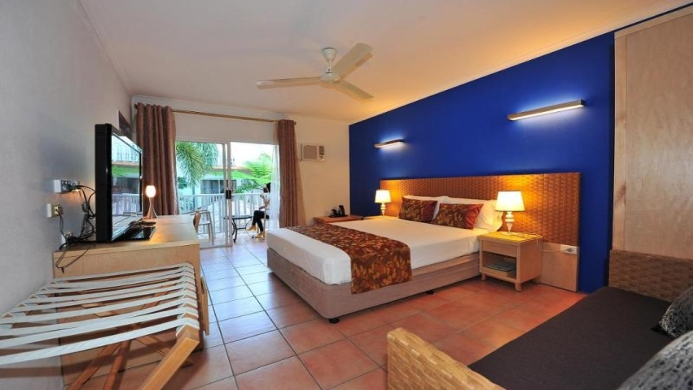 View of Coral Tree Inn Cairns - Muslim Friendly Travel in Cairns