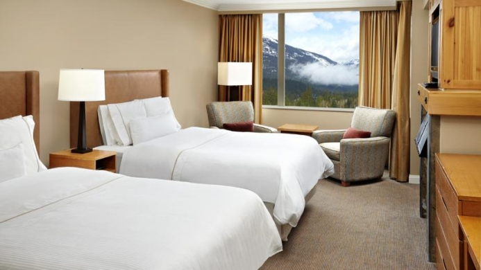View of The Westin Resort & Spa Whistler - Muslim Friendly Travel in Whistler