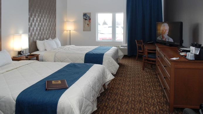 View of Quality Inn Suites Quebec - Muslim Friendly Travel in Quebec City