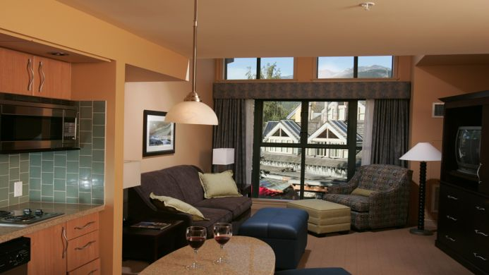 View of Crystal Lodge Whistler - Muslim Friendly Travel in Whistler