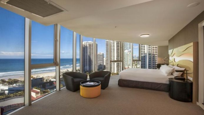 View of Hi Surf Beachfront Resort Apartments Surfers Paradise - Muslim Friendly Travel in Gold Coast
