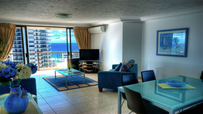 View of Surfers Century Oceanside Apartments Gold Coast - Muslim Friendly Travel in Gold Coast