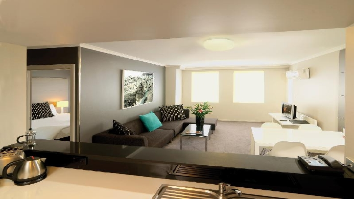 View of Adina Apartment Hotel Sydney, Crown St - Muslim Friendly Travel in Sydney