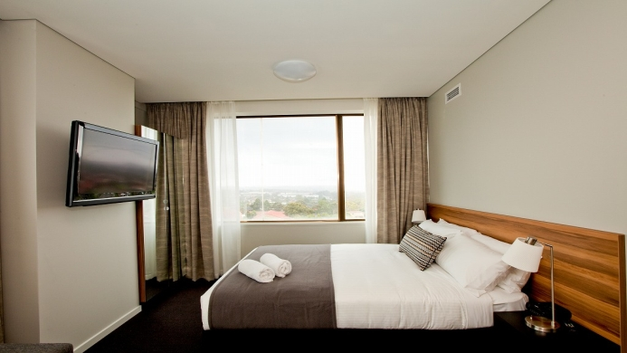 View of Metro Hotel Miranda - Muslim Friendly Travel in Sydney