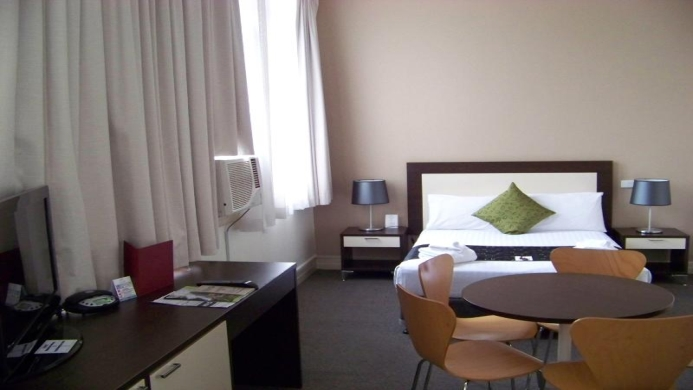 View of Aarons Hotel Sydney - Muslim Friendly Travel in Sydney